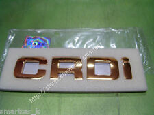 2000-2006 Hyundai Santa Fe OEM side fender CRDi Emblem Badge (2pc)