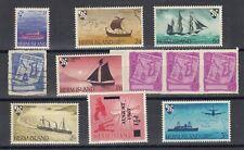 GB Herm Island Collection Of 11 MNH/VFU J9578