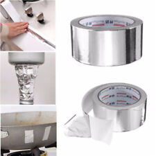 50mm x 25m Silver Roll Aluminium Adhesive Foil Sealing Tape Heating Duct Repairs
