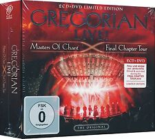 GREGORIAN Live Master of Chant Final Chapter Tour 2CD+DVD NEW