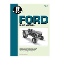 Service Manual For Ford New Holland Tractor 3230 3430 3930 4630 4830