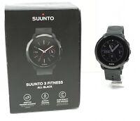 Orologio Suunto 3 fitness all black watch digital clock sport montre run roloj