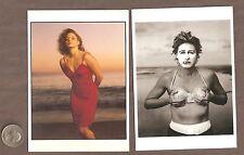 Postcard Lot Ellen Degeneres & Jodie Foster by Annie Leibovitz Lesbian Interest