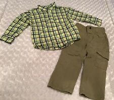 Gymboree/Wonderkids Toddler Boy Outfit Set Size 3T In EUC (BIN AP)