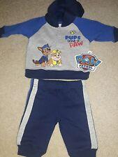 NWT Baby Boy Newborn Paw Patrol Outfit 2 Pc Sweatsuit Pants & Hoodie So Cute