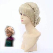 Disney Frozen Elsa Coronation Fashion Styled Cosplay Hand Made COS Wigs Hair