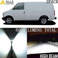 Alla Lighting LED High/Hi Beam Headlight Headlamp 9005 White Bulb Lamp for Chevy