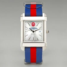 Ole Miss Rebels Wristwatch Watch Striped Strap by M. LaHart New in Box 66% off!