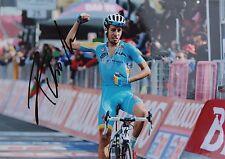 cyclisme  autograph fabio ARU  photo 21X15 signed ASTANA ciclismo TDF italia