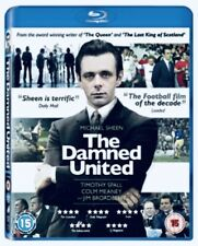 The Damned United Blu-ray Region Free &DVD R2 Excellent Condition Fast Free Post