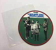 THE BEATLES GERMAN IMPORT PICTURE DISC RECORD CLEAR PLASTIC SLEEVE, VINYL 9.0