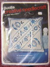 "Bucilla Creative Needlecraft Kit 1805 Hollandia 16"" Belgian linen Pillow"