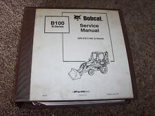 Bobcat Ingersoll Rand B100 Tractor Loader Backhoe Shop Service Repair Manual