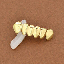 Fashion Gold Plated Hip Hop Teeth Grills Bottom Grill Mouth Teeth Cap Jewelry