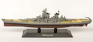DeAgostini 17 US Battleship Missouri 1944 1/1250 Scale Diecast Model Ship