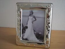 Wedding gift Handmade Sterling Silver Photo Picture Frame*L2/13×18 GBnew