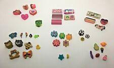 42 Vintage 90s Novelty Eraser Collection
