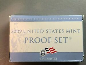 2009-S Complete 18 Coin Proof Set w Box and COA