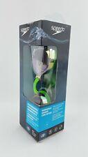 Speedo Performance Vanquisher 2.0 Mirrored Adult Swim Goggle Green Open Box