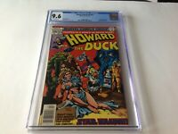 HOWARD THE DUCK 23 CGC 9.6 WHITE STAR WARS PARODY MAN THING JENNIFER KALE MARVEL