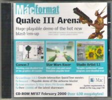 Macformat Vintage CD-ROM Quake Iii Star Wars Coleccionable rara demostración de febrero de 2000