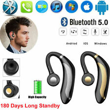 1Pcs Écouteur 5.0 Bluetooth Sans Fil Casque Stéréo Oreillette Pr iPhone Samsung