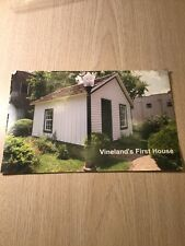 Rare Vineland New Jersey First House Postcard Type Photo South Jersey