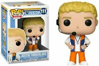 Funko Pop Rocks: NSYNC Justin Timberlake Vinyl Figure 111 - New In Box - Mint