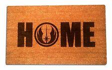 Star Wars Jedi Order Home Laser Engraved Door Mat, 100% Natural Coir Fiber