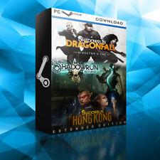 Shadowrun Triple Pack (Returns, Dragonfall, Hong Kong) - PC - Steam Key - DE/EU