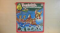 Peter Pan Four Favorite Songs RUDOLPH The Red-Nosed Reindeer 45 rpm EP 60s