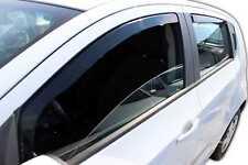 SUN SHADE + Wind Deflectors CHEVROLET AVEO HTB 5 DOOR 2011-up 4 pcs HEKO Tinted