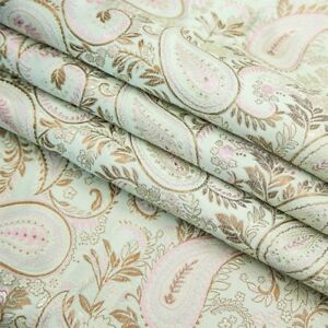 Chinese Brocade Damask Fabric Jacquard Costumes Qipao Materials Craft Soft