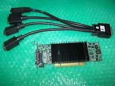 MATROX 256mb LP p690 Plus Monitor Quad PCI SCHEDA GRAFICA + Cavo, vincere 7/8