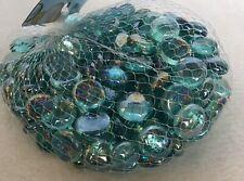 New Decorative Gem Stones- Aqua 2 Lbs For Crafts And/or Decor