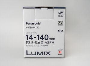 *NEW* Panasonic Lumix G Vario 14-140mm f/3.5-5.6 II ASPH. POWER O.I.S. Lens