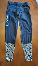 2XU Men's Reflect Run Compression Tights with Storage - 2019 Size M
