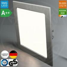 MIA Light Einbau LED Panel 225x225mm | A++ | 22W | 4000K | Neutralweiß | Quadrat
