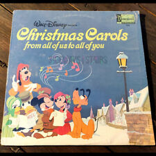 WALT DISNEY CHRISTMAS CAROLS LP Disneyland Records vinyl holiday music w/ shrink