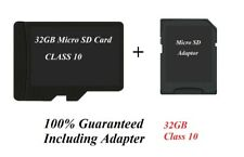 Micro SD 32GB SDHC Memory Card Adap Mobile Phones Camera Tablet REAL CAPACITY UK