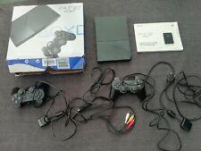 Playstation 2 PS2 Konsole mit 8 Spielen, 2 Controllern, 8 MB Memorykarte