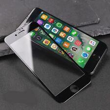 2x 5D Hartglas Panzerfolie Display Schutzglas Tempered Glass 9H IPhone 8 Schwarz