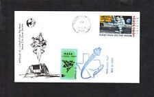 Space NASA Local Post 5c Tied Apollo 12 2nd Moon Lift Houston1969 Unaddressed y