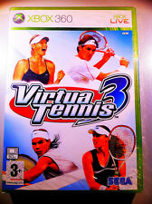 VIRTUA TENNIS 3 XBOX360 FIRST RELEASE SEALED  SIGILLATO
