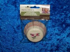 PAULA DEEN FLOWERS BAKING CUPS CUPCAKE LINERS 50 COUNT NEW!!!!!!!!!!!!!!!!!!!!!!