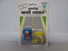 1989 Straco Wacky Wall Racers Blue/Yellow