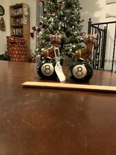 Colectable Salt & Pepper, Cat On 8 Ball
