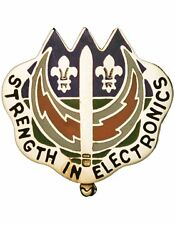 0228 Signal Bde Unit Crest (Strength In Electronics)