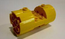 1 x LEGO® 30360 Systemstein, Turbine Düse gelb gebraucht