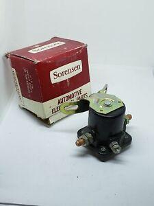Solenoid Swtich Sorensen SS-1 NOS Made in USA
